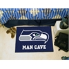 "FANMATS NFL - Seattle Seahawks Man Cave Starter Rug 19""x30"""