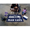 FANMATS NFL - Seattle Seahawks Man Cave UltiMat Rug 5'x8'