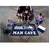 FANMATS NFL - Seattle Seahawks Man Cave UltiMat Rug 5'x8'