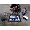 FANMATS NFL - Seattle Seahawks Man Cave Tailgater Rug 5'x6'