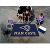 FANMATS NFL - St. Louis Rams Man Cave UltiMat Rug 5'x8'