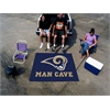 FANMATS NFL - St. Louis Rams Man Cave Tailgater Rug 5'x6'