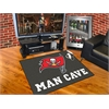 "FANMATS NFL - Tampa Bay Buccaneers Man Cave All-Star Mat 33.75""x42.5"""
