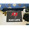 "FANMATS NFL - Tampa Bay Buccaneers Man Cave Starter Rug 19""x30"""