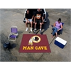 FANMATS NFL - Washington Redskins Man Cave Tailgater Rug 5'x6'