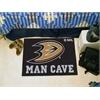 "FANMATS \NHL - Anaheim Ducks Man Cave Starter Rug 19""x30"""