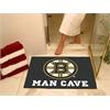 "FANMATS \NHL - Boston Bruins Man Cave All-Star Mat 33.75""x42.5"""