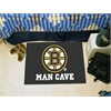 "FANMATS \NHL - Boston Bruins Man Cave Starter Rug 19""x30"""