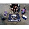 FANMATS \NHL - Buffalo Sabres Man Cave Tailgater Rug 5'x6'