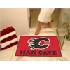 "FANMATS \NHL - Calgary Flames Man Cave All-Star Mat 33.75""x42.5"""
