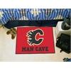 "FANMATS \NHL - Calgary Flames Man Cave Starter Rug 19""x30"""