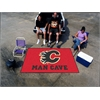 FANMATS \NHL - Calgary Flames Man Cave UltiMat Rug 5'x8'