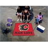 FANMATS \NHL - Calgary Flames Man Cave Tailgater Rug 5'x6'