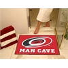 "FANMATS \NHL - Carolina Hurricanes Man Cave All-Star Mat 33.75""x42.5"""