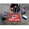 FANMATS \NHL - Carolina Hurricanes Man Cave Tailgater Rug 5'x6'