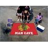 FANMATS \NHL - Chicago Blackhawks Man Cave UltiMat Rug 5'x8'