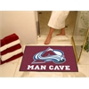 "FANMATS \NHL - Colorado Avalanche Man Cave All-Star Mat 33.75""x42.5"""
