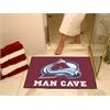 "FANMATS \NHL - Colorado Avalanche Man Cave All-Star Mat 33.75""x42.5"""