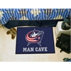 "FANMATS \NHL - Columbus Blue Jackets Man Cave Starter Rug 19""x30"""