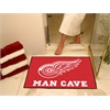 "FANMATS \NHL - Detroit Red Wings Man Cave All-Star Mat 33.75""x42.5"""