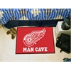 "FANMATS \NHL - Detroit Red Wings Man Cave Starter Rug 19""x30"""