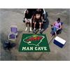 FANMATS \NHL - Minnesota Wild Man Cave Tailgater Rug 5'x6'