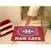 "FANMATS \NHL - Montreal Canadiens Man Cave All-Star Mat 33.75""x42.5"""