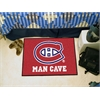 "FANMATS \NHL - Montreal Canadiens Man Cave Starter Rug 19""x30"""