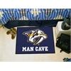 "FANMATS \NHL - Nashville Predators Man Cave Starter Rug 19""x30"""
