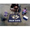 FANMATS \NHL - Nashville Predators Man Cave Tailgater Rug 5'x6'