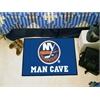 "FANMATS \NHL - New York Islanders Man Cave Starter Rug 19""x30"""