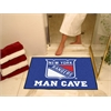 "FANMATS \NHL - New York Rangers Man Cave All-Star Mat 33.75""x42.5"""