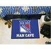 "FANMATS \NHL - New York Rangers Man Cave Starter Rug 19""x30"""