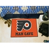 "FANMATS \NHL - Philadelphia Flyers Man Cave Starter Rug 19""x30"""