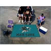 FANMATS \NHL - San Jose Sharks Man Cave UltiMat Rug 5'x8'