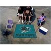 FANMATS \NHL - San Jose Sharks Man Cave Tailgater Rug 5'x6'