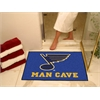 "FANMATS \NHL - St. Louis Blues Man Cave All-Star Mat 33.75""x42.5"""