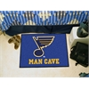 "FANMATS \NHL - St. Louis Blues Man Cave Starter Rug 19""x30"""