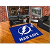 "FANMATS \NHL - Tampa Bay Lightning Man Cave All-Star Mat 33.75""x42.5"""
