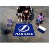 FANMATS \NHL - Tampa Bay Lightning Man Cave UltiMat Rug 5'x8'