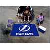 FANMATS \NHL - Tampa Bay Lightning Man Cave Tailgater Rug 5'x6'