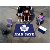 FANMATS \NHL - Toronto Maple Leafs Man Cave Tailgater Rug 5'x6'