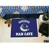 "FANMATS \NHL - Vancouver Canucks Man Cave Starter Rug 19""x30"""