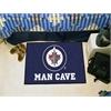 "FANMATS \NHL - Winnipeg Jets Man Cave Starter Rug 19""x30"""