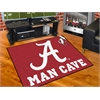 "FANMATS Alabama Man Cave All-Star Mat 33.75""x42.5"""