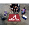 FANMATS Alabama Man Cave Tailgater Rug 5'x6'