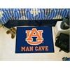 "FANMATS Auburn Man Cave Starter Rug 19""x30"""