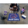 FANMATS Boise State Man Cave Tailgater Rug 5'x6'
