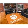 """FANMATS Clemson Man Cave All-Star Mat 33.75""""x42.5"""""""