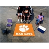 FANMATS Clemson Man Cave Tailgater Rug 5'x6'